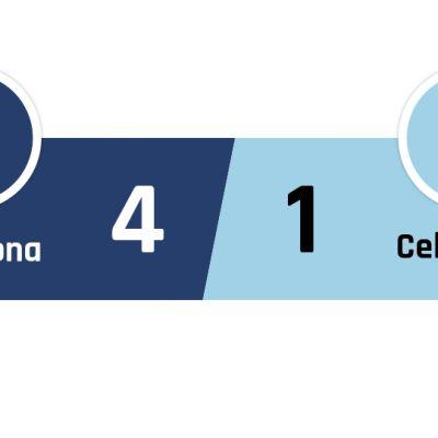 Barcelona - Celta Vigo 4-1