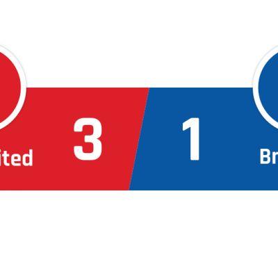 Manchester United - Brighton 3-1