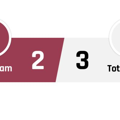 West Ham - Tottenham 2-3