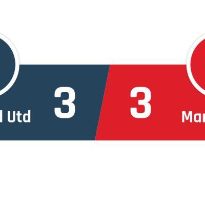 Sheffield United - Manchester United 3-3