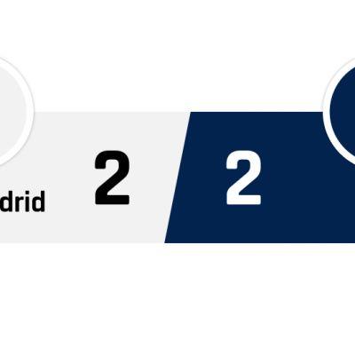 Real Madrid - PSG 2-2