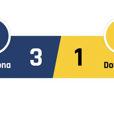 Barcelona - Dortmund 3-1