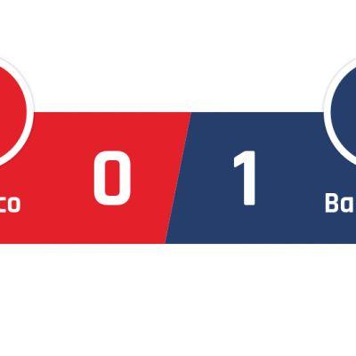 Atlético Madrid - Barcelona 0-1
