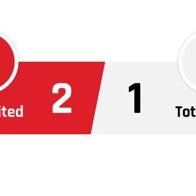 Manchester United - Tottenham 2-1