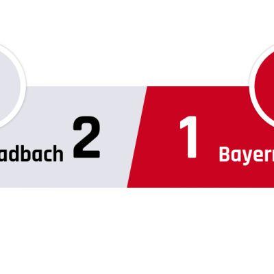 Mönchengladbach - Bayern München 2-1