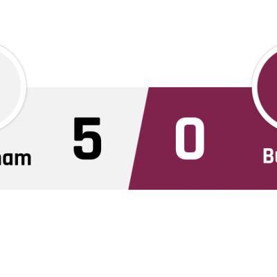 Tottenham - Burnley 5-0