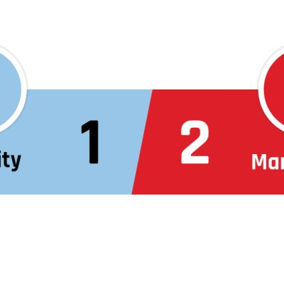 Manchester City - Manchester United 1-2