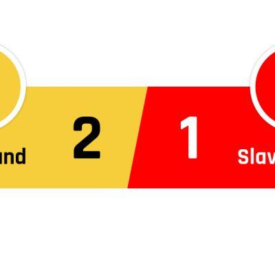 Dortmund - Slavia Praha 2-1