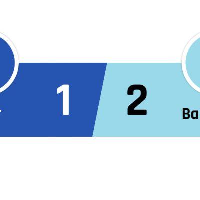 Inter - Barcelona 1-2
