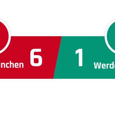Bayern München - Werder Bremen 6-1