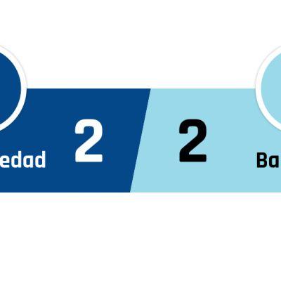 Real Sociedad - Barcelona 2-2