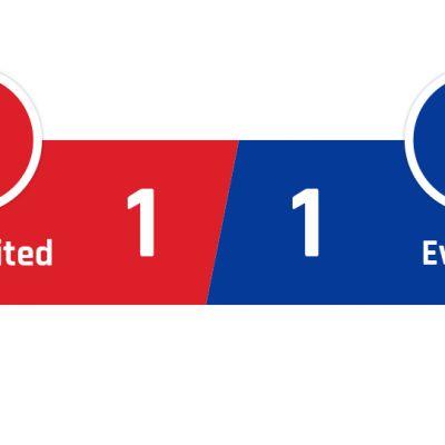 Manchester United - Everton 1-1