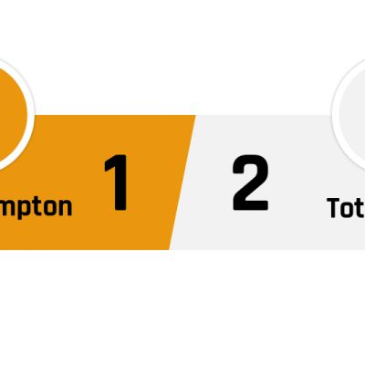 Wolverhampton - Tottenham 1-2