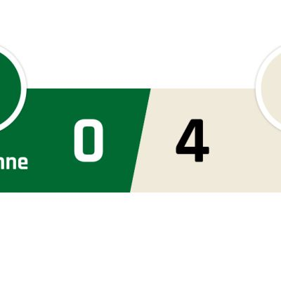 Saint-Étiennen - PSG 0-4