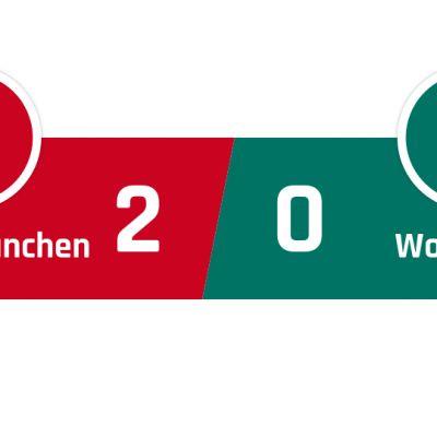 Bayern München - Wolfsburg 2-0