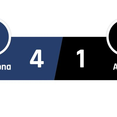Barcelona - Alavés 4-1