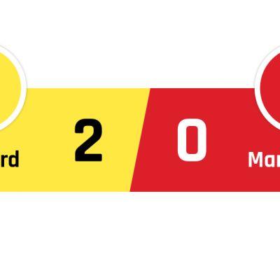 Watford - Manchester United 2-0