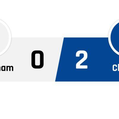 Tottenham - Chelsea 0-2
