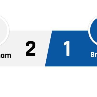 Tottenham - Brighton 2-1