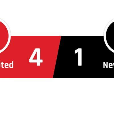 Manchester United - Newcastle 4-1
