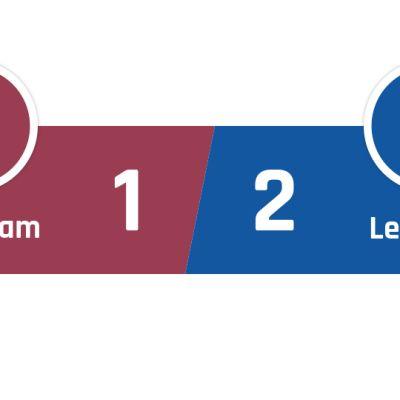 West Ham - Leicester 1-2