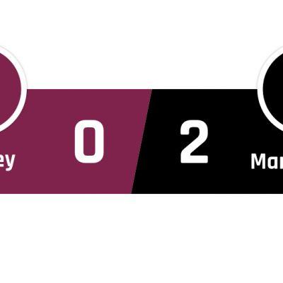 Burnley - Manchester United 0-2