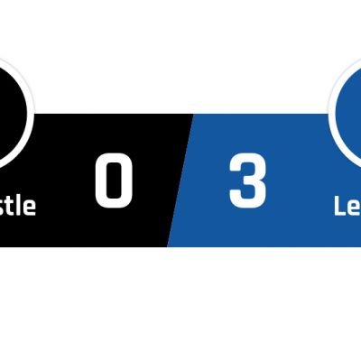 Newcastle - Leicester 0-3