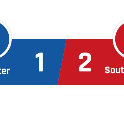 Leicester - Southampton 1-2