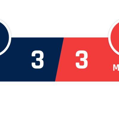 PSG - AS Monaco 3-3