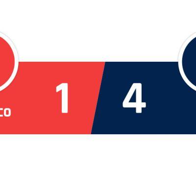 AS Monaco - PSG 1-4