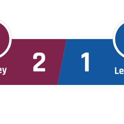 Burnley - Leicester 2-1