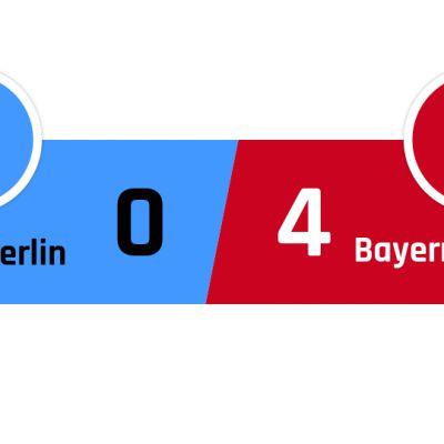 Hertha Berlin - Bayern München 0-4