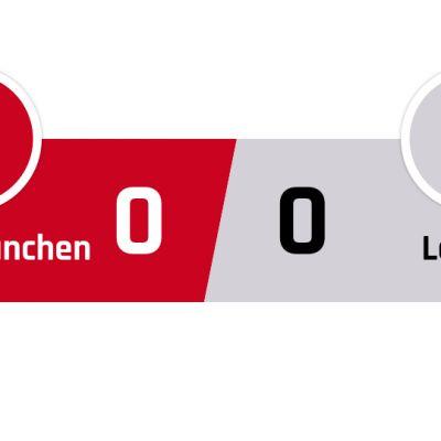 Bayern München - Leipzig 0-0