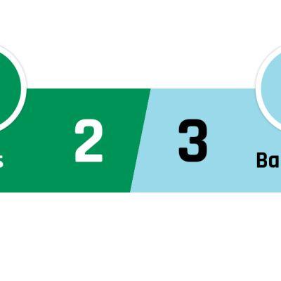 Real Betis - Barcelona 2-3