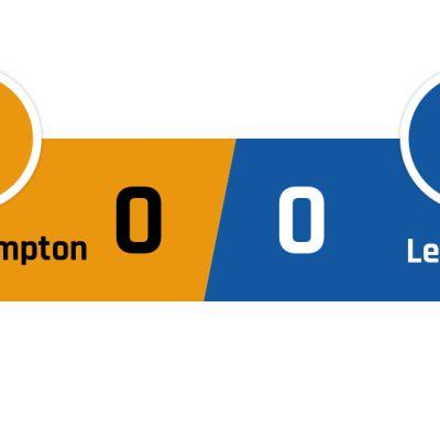 Wolverhampton - Leicester 0-0