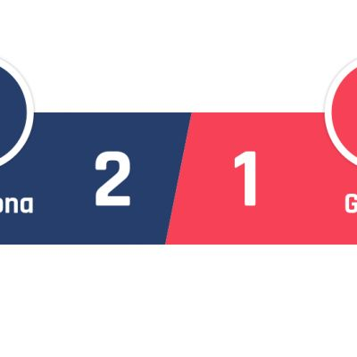 Barcelona - Getafe 2-1