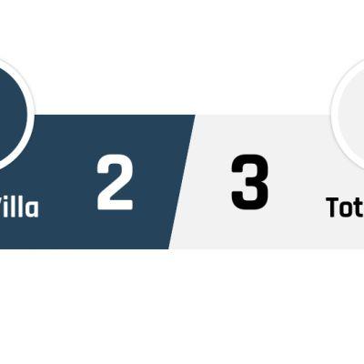 Aston Villa - Tottenham 2-3