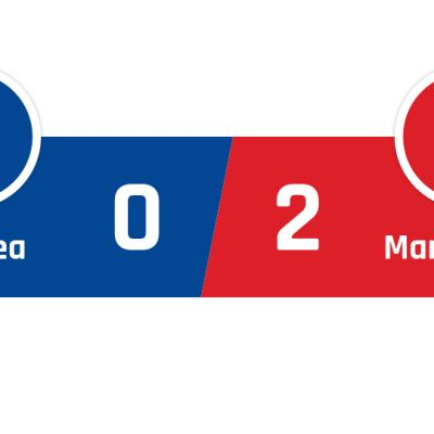 Chelsea - Manchester United 0-2