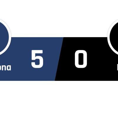 Barcelona - Eibar 5-0