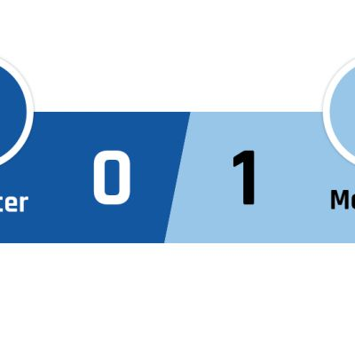 Leicester - Manchester City 0-1
