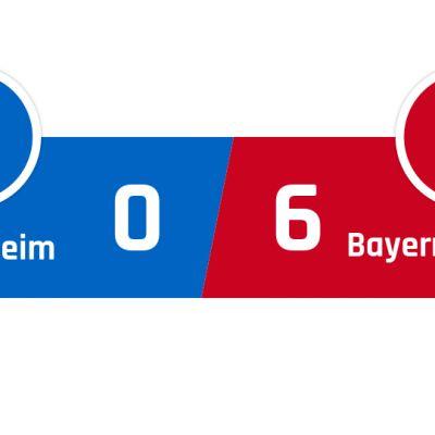Hoffenheim - Bayern München 0-6