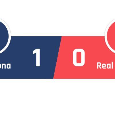 Barcelona - Real Sociedad 1-0