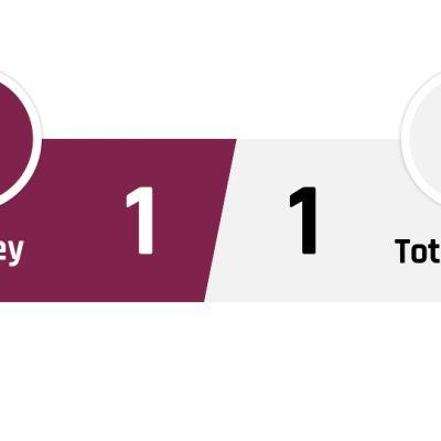 Burnley - Tottenham 1-1