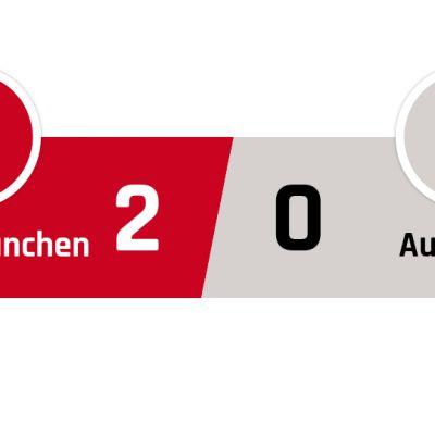 Bayern München - Ausburg 2-0