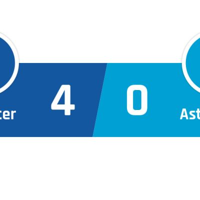 Leicester - Aston Villa 4-0