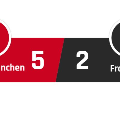 Bayern München - Frankfurt 5-2