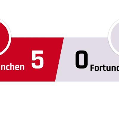 Bayern München - Fortuna Düsseldorf 5-0