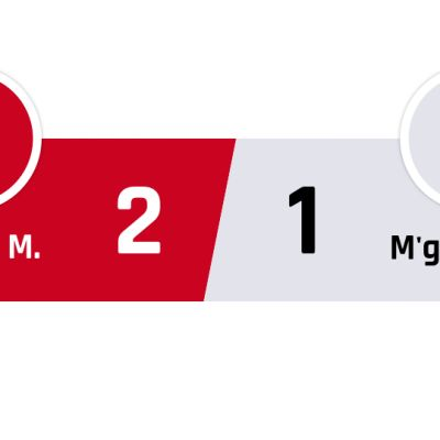 Bayern München - Mönchengladbach 2-1