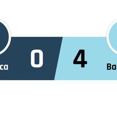 Mallorca - Barcelona 0-4