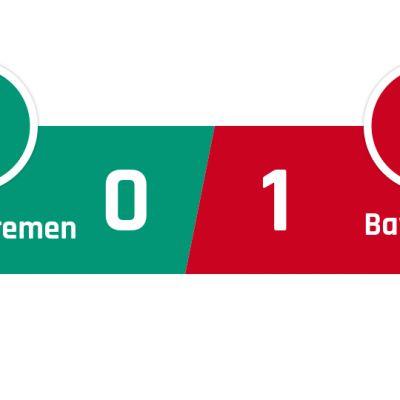 Werder Bremen - Bayern München 0-1